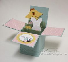 Easter Card in a Box