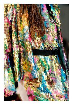 Sequin Multi-Colour Metallic Dress