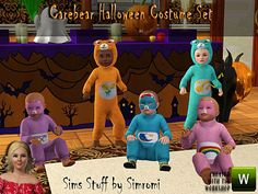 simromi's Care Bear Halloween Costume Set for Toddlers