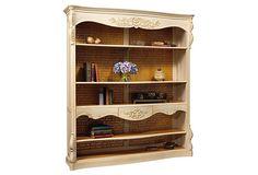 Brouchard Open Bookcase by French Heritage - OneKingsLane.com