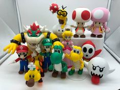 Mario Group printed by Daniel Egger‎, designed by bpitanga #toysandgames