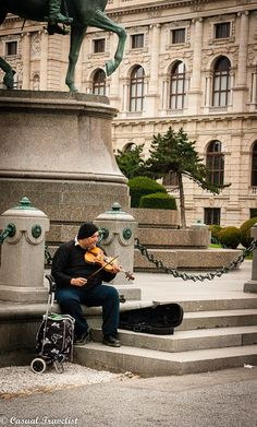 Music is everywhere you look in Vienna. - www.casualtravelist.com - [someone else's caption]