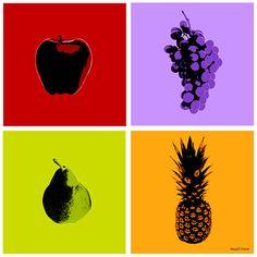 Maxwell Dickson 'Fruits' Art Prints