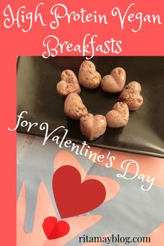 I'll show you high protein vegan breakfast ideas for Valentine's day that can be eaten even in bed if you don't mind the crumbs. They are all very tasty. Best Vegan Recipes, Healthy Recipes, Protein Recipes, High Protein Vegan Breakfast, Smoothie, Workout Protein, Keto, Mindful Eating, Make Money Fast