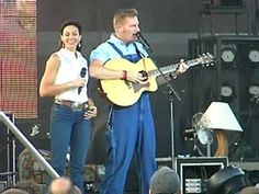 Joey + Rory perform I think she only likes me for my Willie - YouTube