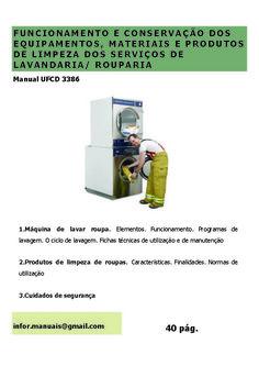 3386. Funcionamento e conservação dos equipamentos materiais e produtos do serviço de lavandaria/ rouparia