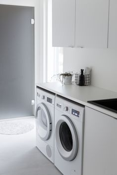 Laundry Room, Sweet Home, New Homes, Minimalist, Home Appliances, Indoor, House Design, Inspiration, Interior Design