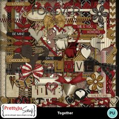 Together 3 Branches, Love You Gif, Digital Scrapbook Paper, Paint Shop, Photoshop Elements, My Memory, Cupid, Photo Book, Design Elements