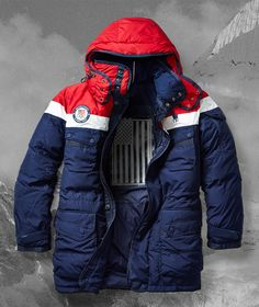 The Ralph Lauren limited-edition opening ceremony parka Team Usa, Ralph  Lauren Jackets, 84710fc0b4a