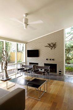 Mid-Century Mod re-do - modern - living room - dc metro - KUBE architecture