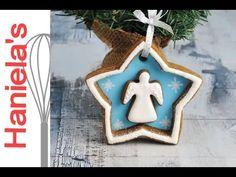 Christmas Angel Cookie Decoration https://www.youtube.com/watch?v=YBMMb4Y91-c