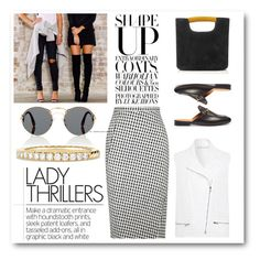 """""""Lady Thrillers"""" by cherieaustin ❤ liked on Polyvore featuring Prada, Richard Nicoll, Gucci, Simon Miller, David Yurman and Altuzarra"""