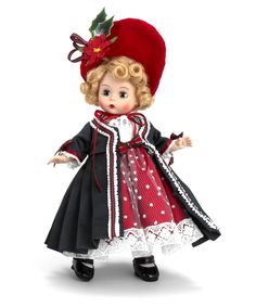 "Madame Alexander Victorian Yuletide 8"" Doll from the Christmas Collection - 2012 Collection"