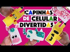IDEIAS INCRÍVEIS PARA FAZER EM CASA #3 - CAPINHAS: UNICÓRNIO, PIKACHU, SILICONE! | KIM ROSACUCA - YouTube