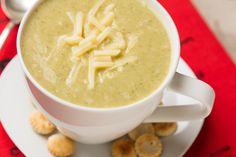 The winter soup that's dreamy, creamy and healthful. (How often does that happen?)