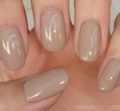rounded nails. Love this!!