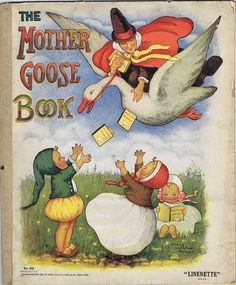 ''The Mother GOOSE Book'', Sam'L Gabriel Sons Co NY 1923, ill. Mary LaFetra Russell | eBay