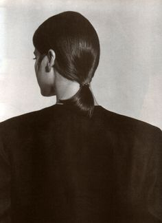 periodicult:  Calvin Klein, American Vogue, March 1986.