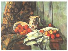 Still life with jug by @cezanneart
