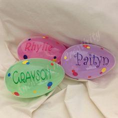 Personalized jumbo plastic easter egg easter basket easter from personalized easter egg jumbo easter egg easter gift for child easter basket negle Choice Image