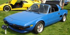 The Fiat X-19 is an awesome little car, however it is quite rare. #legalrider