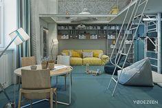 stylish kids room design - Google otsing