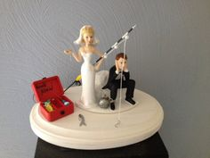 Wedding Cake Topper Bridal Funny  Ball and by Embroideryworld