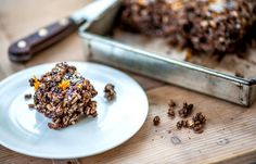 Josh Eggleton shares a delicious chocolate and orange dessert dish, complete with popping candy and Rice Krispies in the mix
