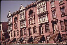 Brownstone Apartments NYC   PHOTOS: Here Is What Brooklyn Was Like In The Summer Of 1974 ...