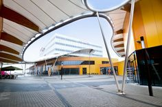 Zep Leisure Park designed by Nio Architects, facade treatment by Tata Steel