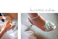 Silk details for the bridal shoes by MAZI-Event.
