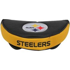 Pittsburgh Steelers Mallet Putter Cover by McArthur. $15.95. Constructed of durable 420D nylon in vibrant team colors. Foam padding and fleece lining for club protection.