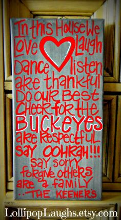 I'm so doing this for our OSU family room!!!