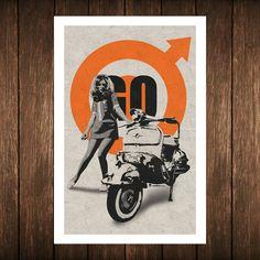 Une série d'images originales sur la culture MODS nommée Go Mod Go, disponibles en série limitée à 50 ex. numérotées sur papier au chanvre (Hahnemühle Hemp 290g), signées avec hologramme et certificat d'authenticité, format 40 X 60 cm. NB : Livraison sous quinzaine (impression, signature, certificat).