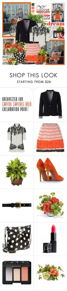 """""""Olivia Palermo - Unexpected fun"""" by amaryllis ❤ liked on Polyvore featuring Hobbs NW3, Oscar de la Renta, Marni, Vionnet, Prada, Marc by Marc Jacobs, NARS Cosmetics and olivia palermo"""
