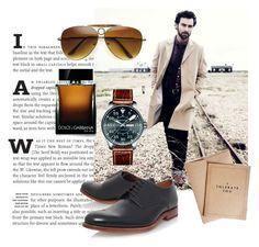 """men"" by noura-319 on Polyvore featuring Hamilton, Grenson, Dolce&Gabbana, men's fashion et menswear"