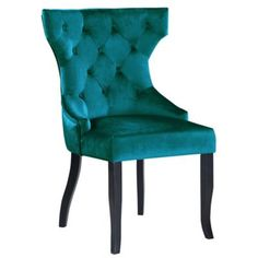 Chic Home Design Set of 2 Naomi Side Chair at Lowe's. Naomi is an updated interpretation of a classic dining chair Design details abound from its wingback look and luxurious velvet upholstery to its diamond