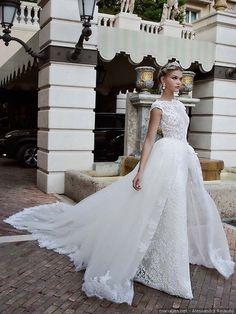 Alessandra Rinaudo #mariage #2017 #bonheur #love #couple #mariée #mode #robe #tenue #bb #wedding #blanc #dress