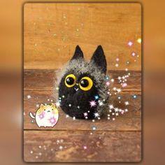 Желтоглазик. Наконец я нашла, как звездочки делают :) #котики #котики_правят_миром #коты_рулят #валяшки #март_время_котиков #авторская_игрушка_ручной_работы #интерьерная_игрушка #авторская_игрушка #фельт #фильцнадель #felt #needlefelting #needlecraft #my_toys #handarbeit #handmade