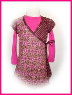 Zussies kleding.: Knippie 4/2008 overslagjurkje