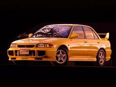 Mitsubishi Lancer GSR Evolution III (1995).