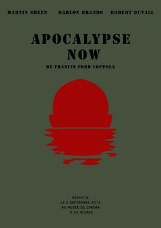 Apocalypse Now (1979) ~ Minimal Movie Poster by Manon Champredon