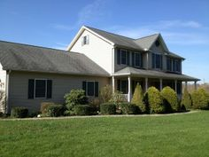 Non Pressure Roof Cleaning Mechanicsburg, PA - April 2013 Moss Removal, Roof Cleaning, Removal Services, York Pa, Exterior, April 22, Cabin, Mansions, House Styles