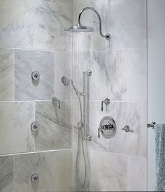 """Ashbee 1/2"""" or 3/4"""" Thermostatic Valve Trim with Lever Handles from DXV"""