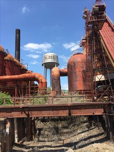 Sloss Furnaces, Birmingham, Alabama  by David M. Simpson ...