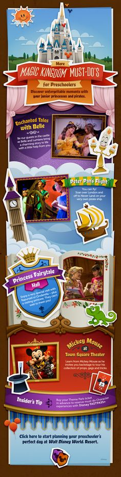 More Magic Kingdom Must-Do's for Preschoolers! Beauty and the Beast, Peter Pan's Flight, Princes Fairytale Hall