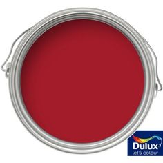 Dulux Endurance Salsa Red - Matt Emulsion Paint - 2.5L at Homebase -- Be inspired and make your house a home. Buy now.