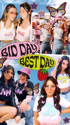 Sorority Rush Shirts, Sorority Crafts, Sorority Life, Big Little Gifts, Custom Greek Apparel, Indie Girl, Greek Clothing, Bid Day, College Outfits