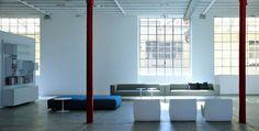 Sofá tapizado de tela con funda extraíble ALLEN 2 by MDF Italia diseño Bruno Fattorini