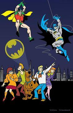 Batman and Scooby-Doo